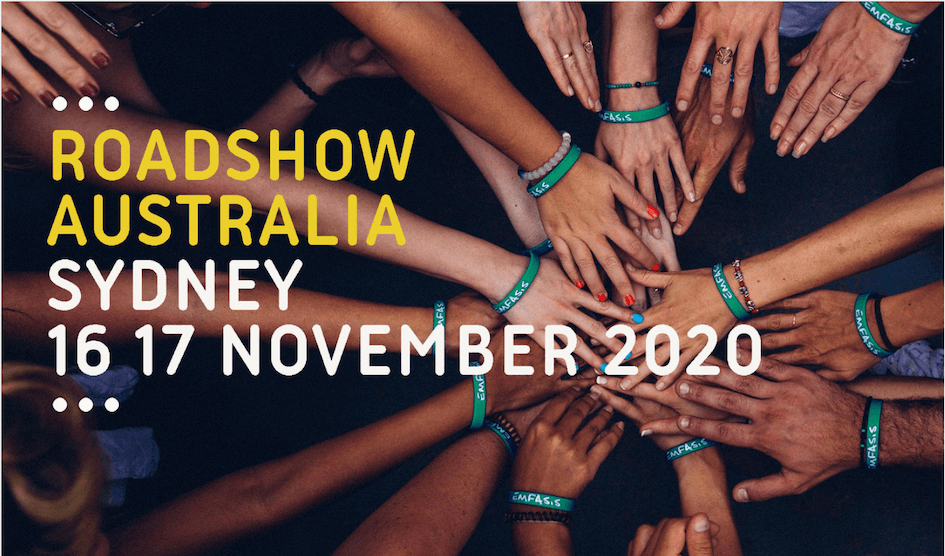 Roadshow Australia, bought to you by Communicating the Arts and SAMAG